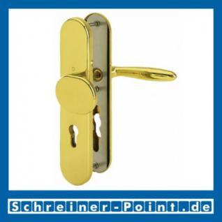 Schutzbeschlag Hoppe Verona F77-R Messing poliert Resista M86G/3331/3310/151 ES1 (SK2), 3284395, 6937833, 3235868, 6937841 - Vorschau 1