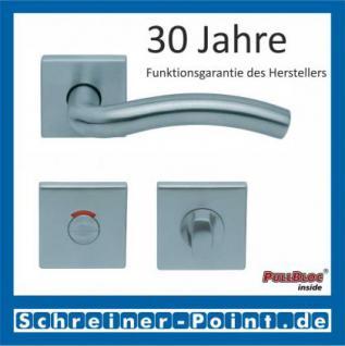 Scoop Wave quadrat PullBloc Quadratrosettengarnitur, Rosette Edelstahl matt - Vorschau 4