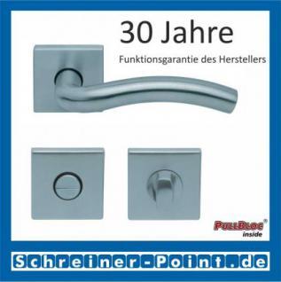 Scoop Wave quadrat PullBloc Quadratrosettengarnitur, Rosette Edelstahl matt - Vorschau 3