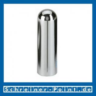Hoppe Kunststoff-Zierhülse Metallfinish Messing verchromt F49, (Satz 4 Stück) 8201154