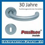 Scoop Baloo PullBloc Rundrosettengarnitur, Rosette Edelstahl matt