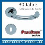 Scoop Baloo PullBloc Rundrosettengarnitur, Rosette Edelstahl poliert