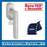 Hoppe Las Vegas Edelstahl Fenstergriff F69 abschließbar Secustik E1440Z/US950S (100 Nm), 2548601, 2548619