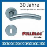Scoop Prima PullBloc Rundrosettengarnitur Rosette Edelstahl matt