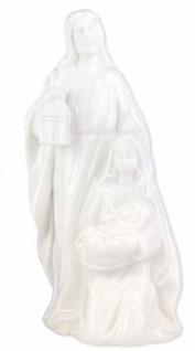 Porzellan-Figur Heilige Familie 20 cm