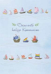 Kommunionkarte Deine erste heilige Kommunion (6 St) Grußkarte Erstkommunion