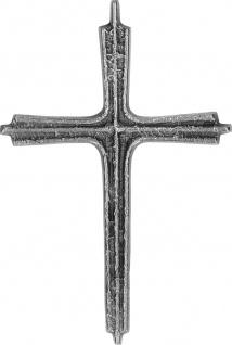 Wandkreuz Neusilber 15, 5 cm Kruzifix Kreuz Schmuckkreuz