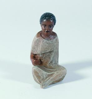 Gelenberg Krippe Treiber bunt handbemalt 18 cm Krippen Figur Weihnachten