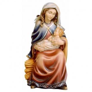 Maria mit Kind Holzfigur geschnitzt Südtirol Maria Mutter Gottes Figur