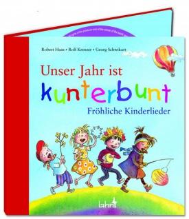 Unser Jahr ist kunterbunt, CD 51 Fröhliche Kinderlieder