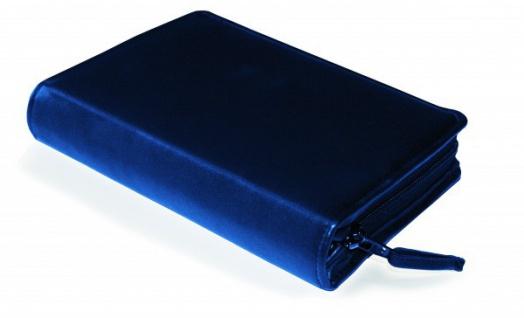 Gotteslobhülle Rindsleder Blau Gesangbuch Einband Katholisch