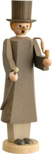 Räuchermännchen Gentleman 21 cm Seiffen Erzgebirge Handarbeit Holzfigur