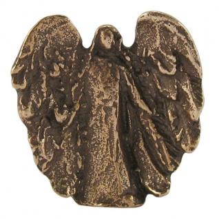 Handschmeichler Behütender Engel 3, 5 cm Bronzeengel Engel Figur