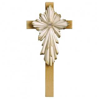 Kreuz Erstkommunion Holzkreuz geschnitzt Südtirol Kruzifix Wandkreuz