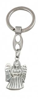 Schlüsselanhänger Schutzengel Christopherus bunt 9 cm Engel Anhänger