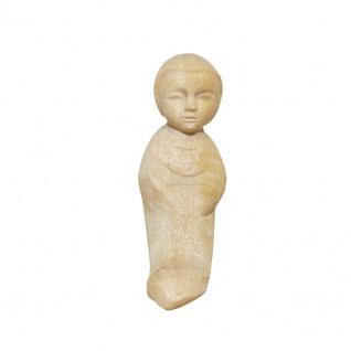 Kind Bauer-Krippe 17 cm handgeschnitzt Krippen Figur Weihnachten