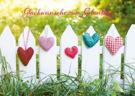 Grußkarte Geburtstag 6 St Kuvert Susanne Schutkowski Gratulation Segens-Wunsch