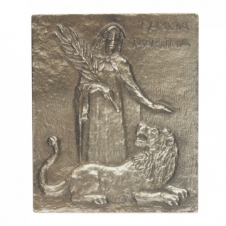 Namenstag Martina Bronzeplakette 13x10 cm