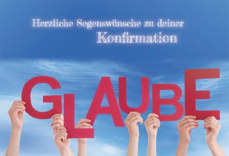 Konfirmationskarte Herzliche Segenswünsche zu deiner Konfirmation (6 St) Hebräer