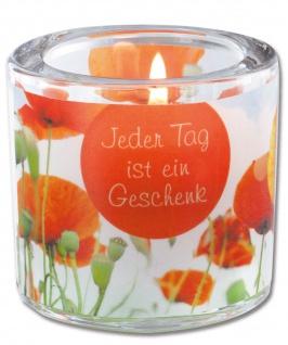 Glaswindlicht Jeder Tag Teelicht Kerzenhalter Geschenkbox Glas für Windlicht