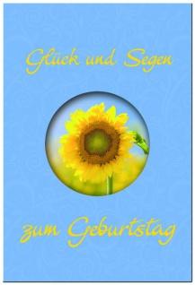 Geldgeschenkheft Glück und Segen zum Geburtstag Christliche Bücher