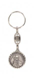 Schlüsselanhänger Papst Franziskus Francesco Metall 2, 3 cm Christlich