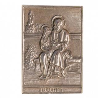 Namenstag Joachim 8 x 6 cm Bronzeplakette Bronzerelief Wandbild Schutzpatron