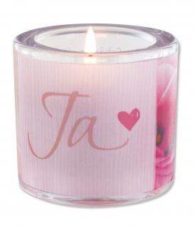 Glaswindlicht Ja inkl. Teelicht Kerzenhalter Geschenkbox Glas für Windlicht
