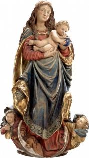 Mutter Gottes Maria Fränkisch Holz geschnitzt handbemalt Südtirol Schnitzkunst