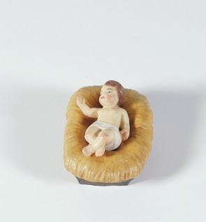 Kind Tauernkrippe 12 cm Holz geschnitzt Krippen Figur Weihnachten