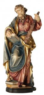 Heiliger Judas Thaddäus Holzfigur geschnitzt Südtirol Schutzpatron Apostel