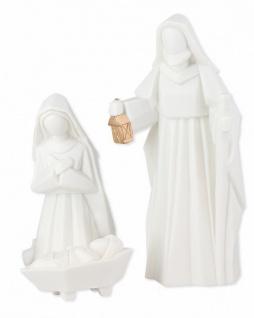 Porzellan-Figuren Heilige Familie 3-teilig, 15 cm