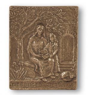 Namenstag Anna Annika Bronzeplakette 13x10 cm