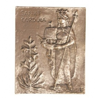Namenstag Cordula Bronze 13 x 10 cm - Vorschau