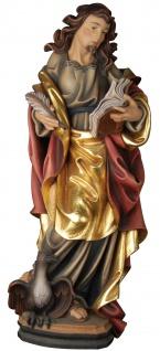 Heiliger Johannes Holzfigur geschnitzt Südtirol Schutzpatron Apostel Evangelist