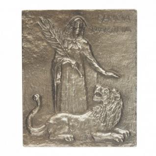 Namenstag Martina Bronzeplakette 13x10 cm Bronzerelief Wandbild Schutzpatron