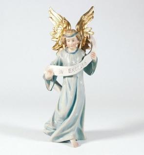 Krippenfigur Engel hängend Mesner-Krippe 22 cm Krippen Figur Weihnachten