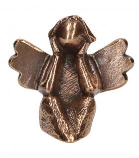 Bronzefigur Engel Kerstin Stark Aufstell-Figur Engelfigur