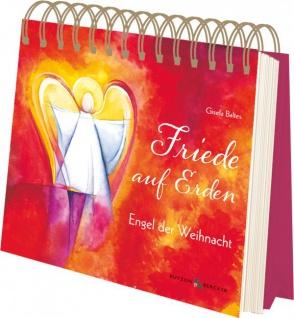 Geschenkbuch mit Spiralbindung Friede auf Erden Schutzengel Geschenke - Vorschau