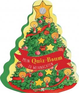 Mein Quiz-Baum zu Weihnachten Kinderbuch Dorothea von der Höh