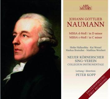 Missa d-Moll, Missa c-Moll, Johann Gottlieb Naumann