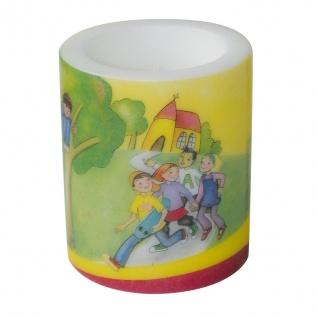 Tischkerze Mit Jesus auf dem Weg 110 x 105 mm