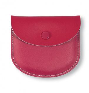 Rosenkranz Etui Leder Pink 8, 5 cm Kommunion Schmucketui Tasche