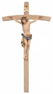 Kruzifix Dolomiten-Kreuz Holzschnitzerei Grödnertal