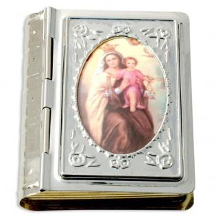 Rosenkranz Etui Bibelformat Madonna Jesukind Schmuckschatulle