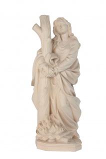 Heilige Afra Holzfigur geschnitzt Südtirol Schutzpatronin Märtyrerin - Vorschau 3