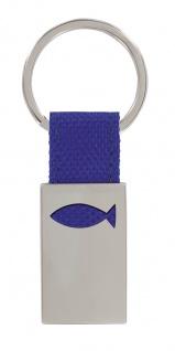 Schlüsselanhänger Ichthys Fisch Begleiter für Unterwegs Anhänger