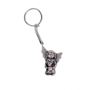 Schlüsselanhänger Lustiger Engel mit Teddy 4 cm Schutzengel Anhänger