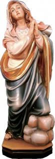 Einsiedlerin Heiligenfigur Holz geschnitzt Südtirol