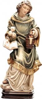 Heiliger Vitus Holzfigur geschnitzt Südtirol Schutzpatron